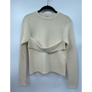 J.W. ANDERSON Sweater Ivory XS